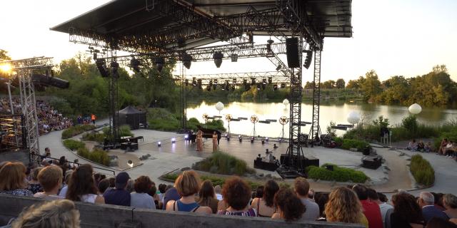 Concert Brigitte aux Musicales du Parc des Oiseaux