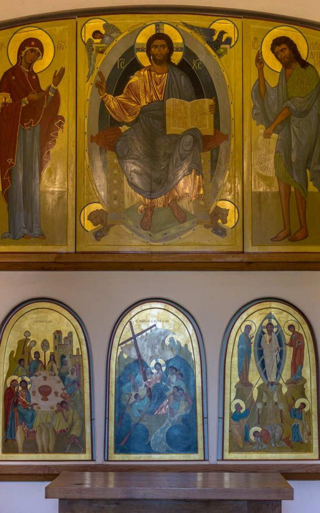 Oratoire de Tibhirine - Salle des Icônes dans l'Abbaye