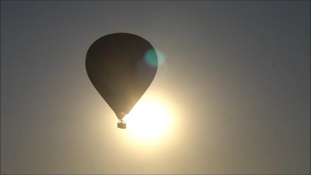 Vol de Montgolfière au dessus des étangs de la Dombes