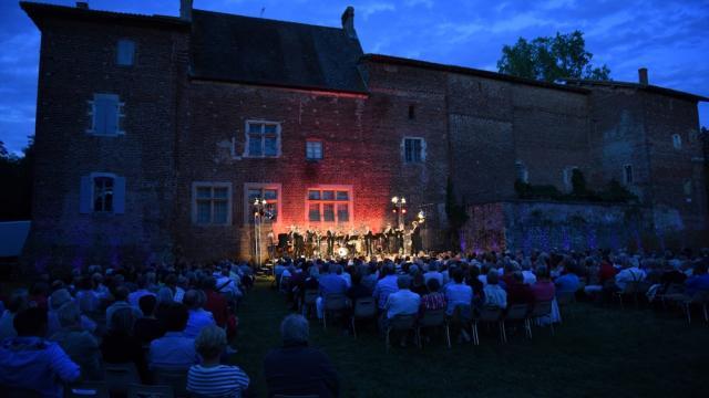 Concert Belgian Brass au Chateau de Varax - Festival Cuivres en Dombes