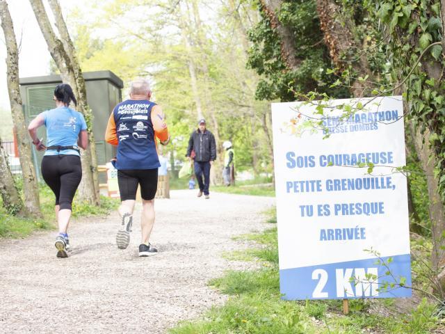 Semi Marathon Bresse Dombes en 2019