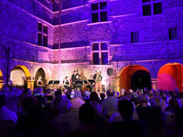 Concert Labeyrie au Chateau de Bouligneux