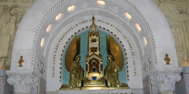 Reliquaire du Coeur du Saint Curé d'Ars