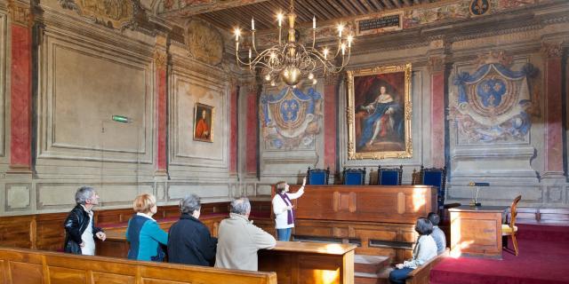 Salle d'Audience du Parlement de Trévoux