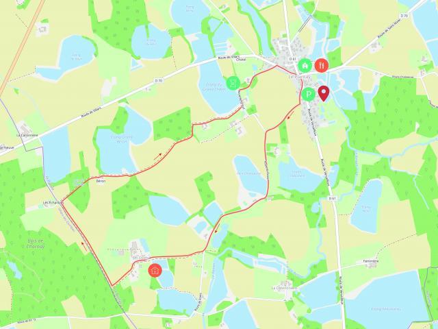 Circuit de randonnée près de Lyon Le Plantay