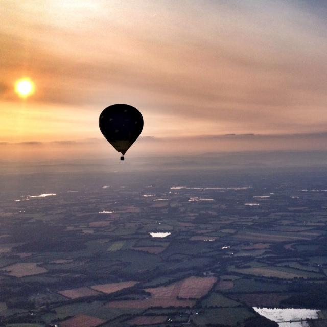 Vol en montgolfière en Dombes au départ de Chatillon sur Chalaronne