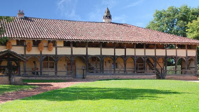 Ferme du musée, maison chauffure - bâtiments classés Monument historique