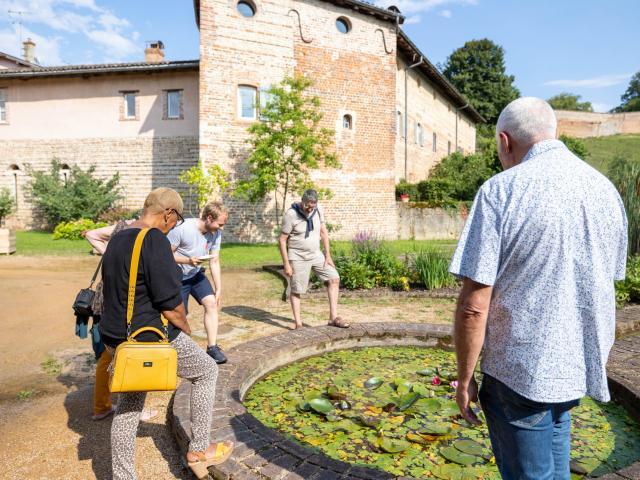 Visite de Châtillon-sur-Chalaronne