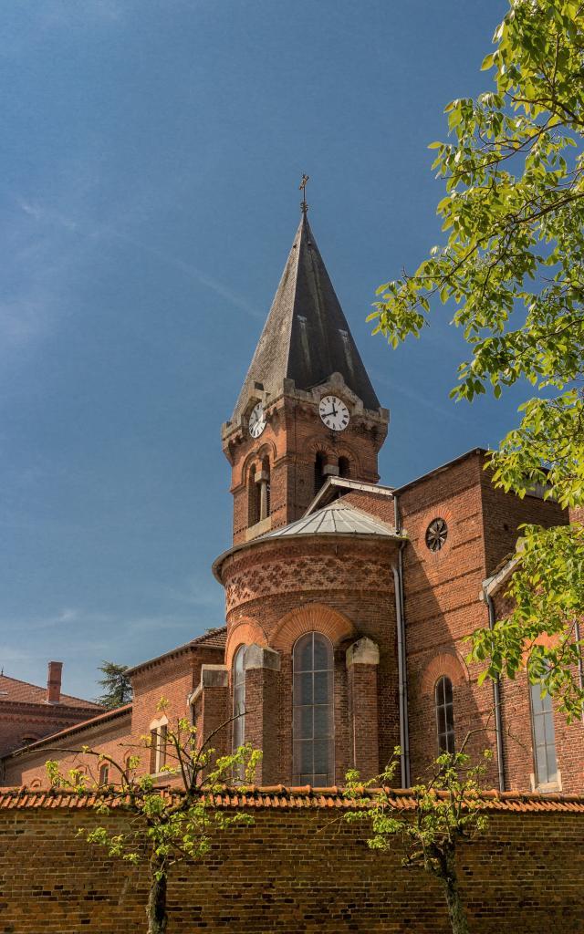 Abbaye Notre Dame des Dombes Le Plantay