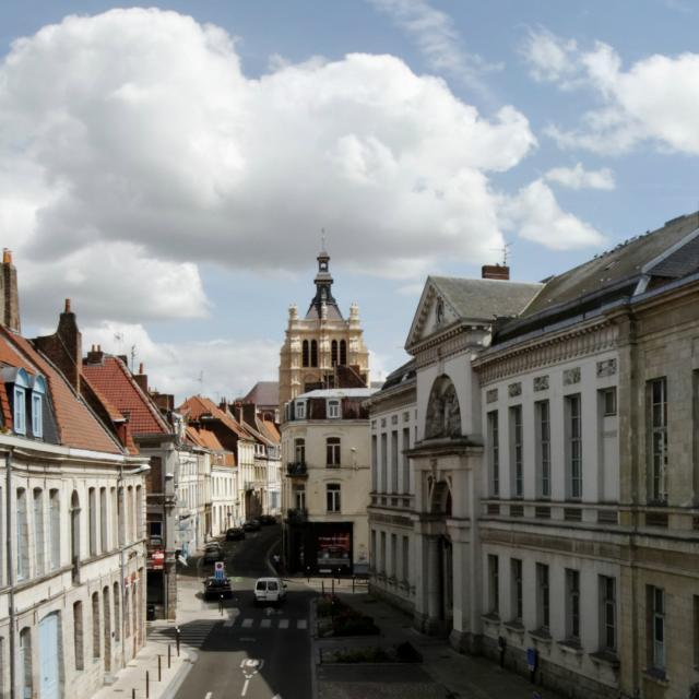 Douai Temps Roi Soleil Vue Ville Douai Nord France (c) Ad Langlet
