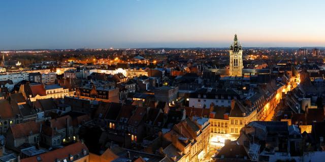 Panoramique St Pierre Douai Douaisis (c) AD Langlet