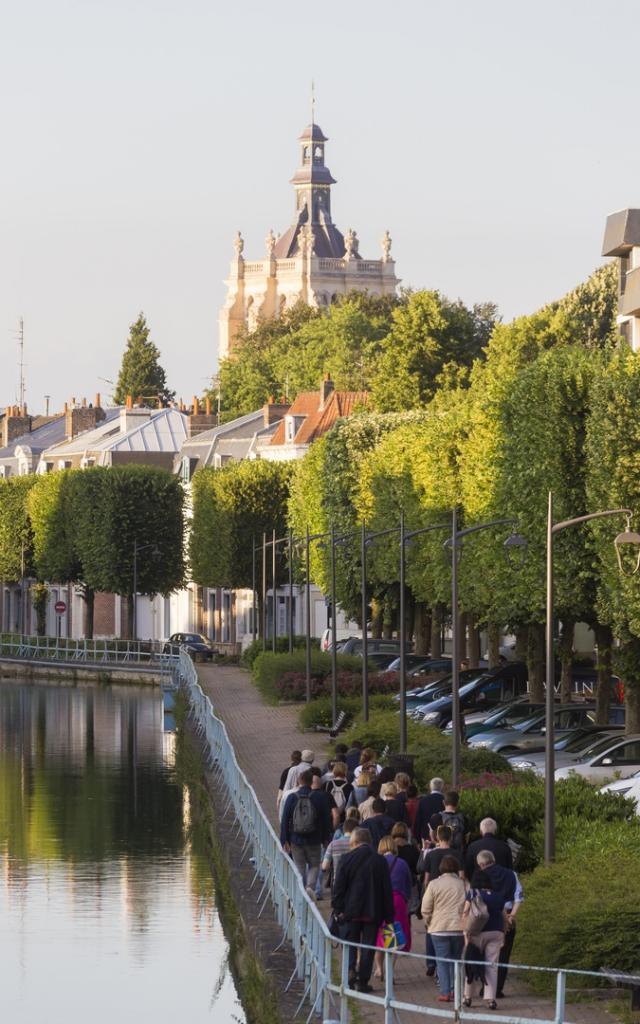 Visite Douai Collegiale Saint Pierre Vue Ville Nord France (c) Ad Langlet