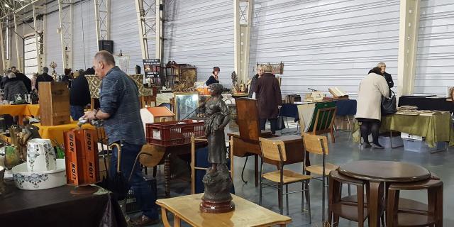 Bandeau Les Puces Du Nord à Gayant Expo, Douai--Douaisis Nord France