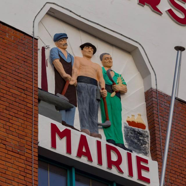 Mairie De Waziers Douaisis Nord France (c) Adlanglet 2