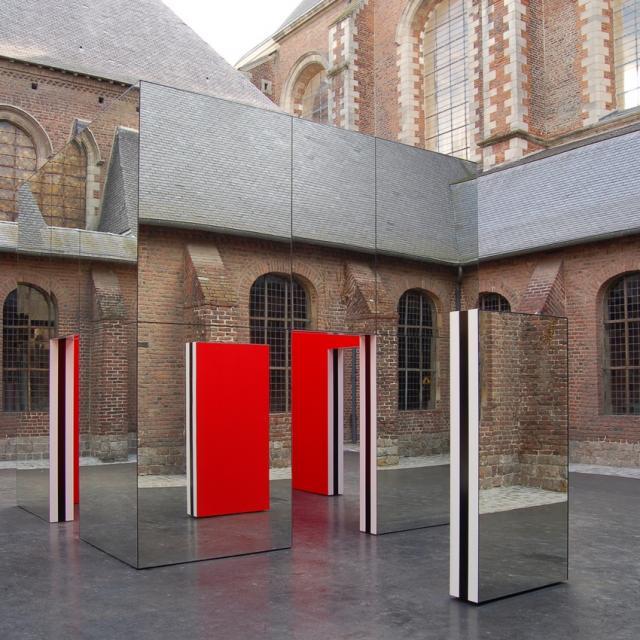 Musée Chartreuse Cabane De Buren Douai Beaux Arts Douai Nord France