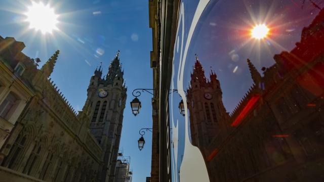 Beffroi Carillon Moyen Age Douai Douaisis Nord France (c) Ad Langlet