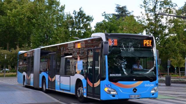 Eveole Bus Transport Douai Douaisis Nord France
