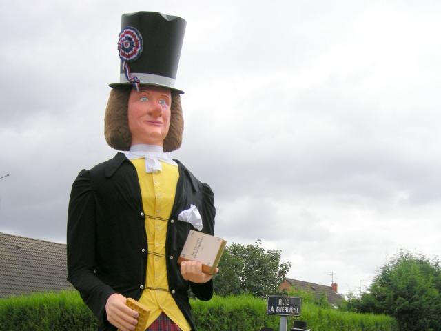 La Guerliche de Cantin-Géants-banquet-Douai-Douaisis Nord France