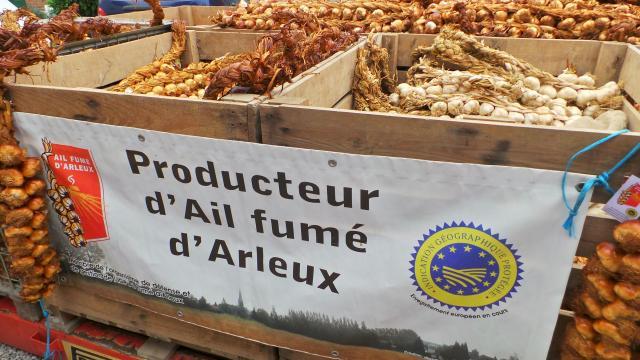 Foire à L'ail Arleux Douaisis Nord France (c)m. Delabarre