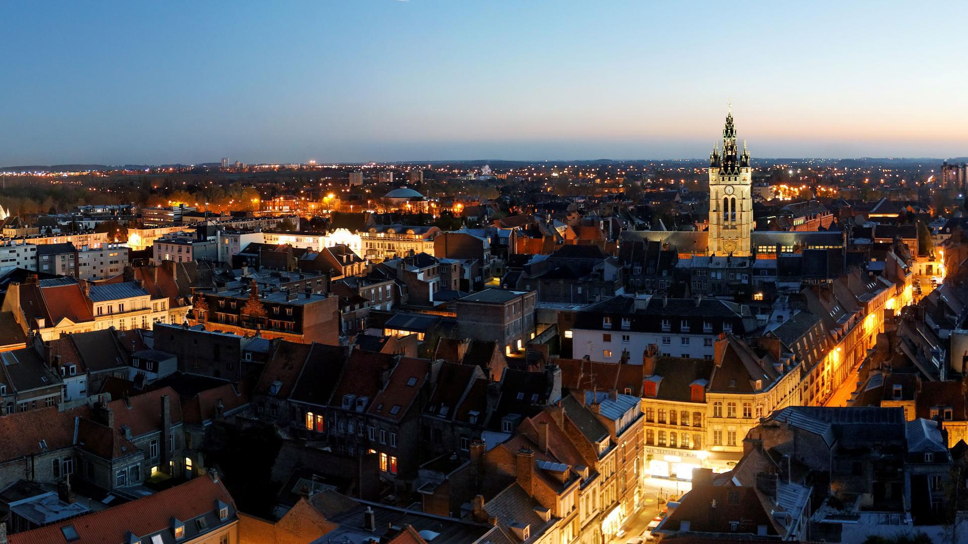 Panoramique Depuis St Pierre - Douai-Nord-France-(c) AD Langlet