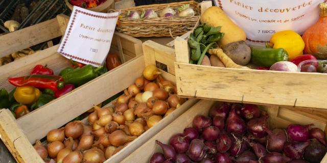 Ferme - produits du terroir - produits locaux - Ail - echalottes