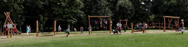 Parc Charles Fenain Douai Douaisis Nord France