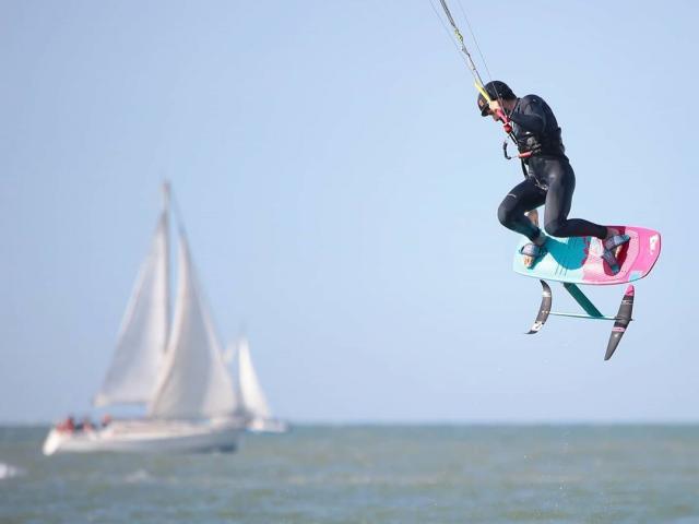 Kite Surf à Malo-les-bains