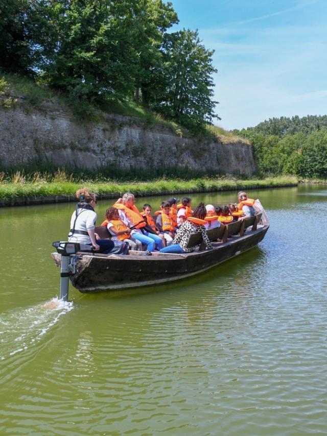 Tour de Gravelines en bateau