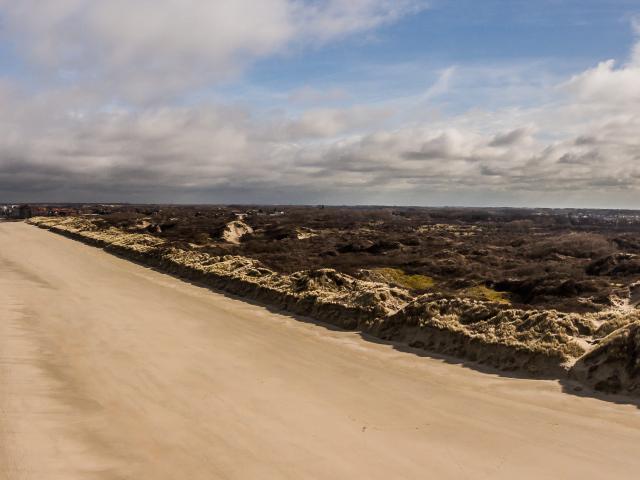 Vue Aérienne du Grand Site des Dunes de Flandre