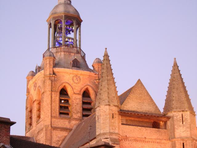 Bourbourg Clochet église
