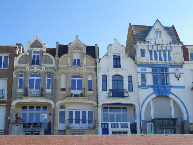 Bray Dunes, Les '4 Soeurs' Et La Villa Florent