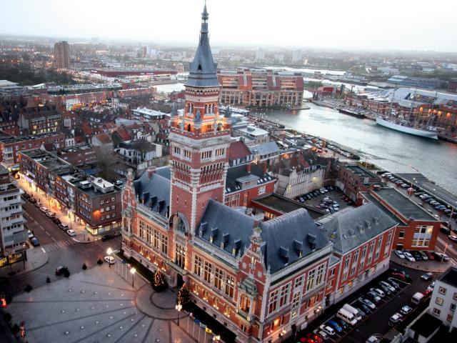 Hôtel De Ville Dunkerque Vue Aérienne
