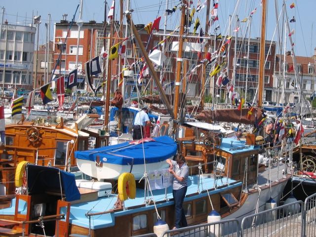Little Ships Docked In Dunkirk