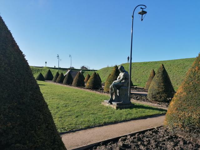 Gravelines Jardin des sculptures
