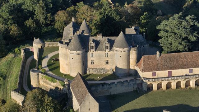 Château de Fénelon Vues Aeriennes