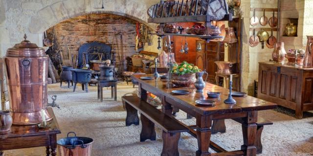 Les cuisines du Donjon
