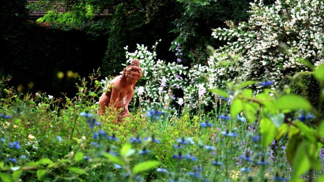 Jardins de Cadiot : La Baigneuse