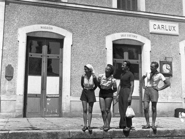La Gare Carlux, 15 août 1939