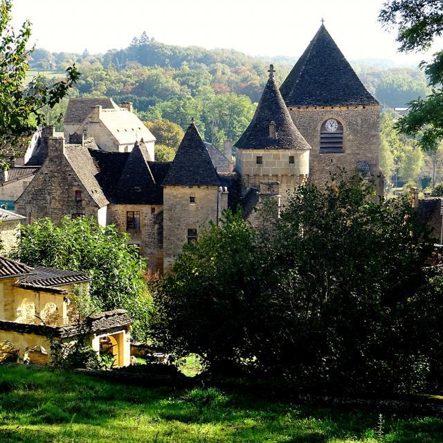 Vue du Château de Saint Génies