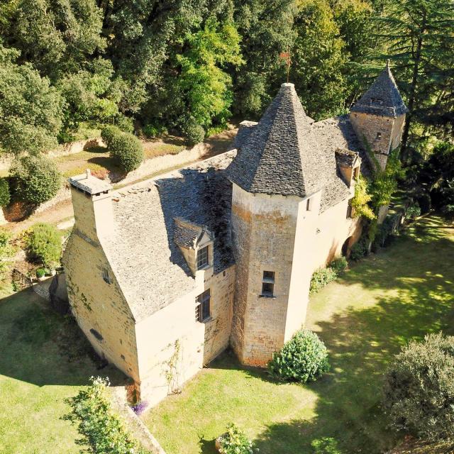château ce Lacypierre vue d'ensemble