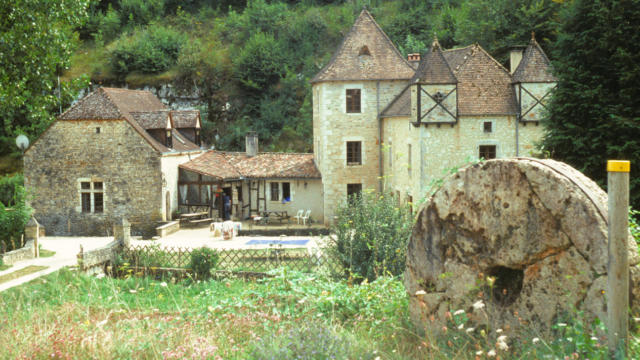 Moulin de la Garrigue à Borrèze