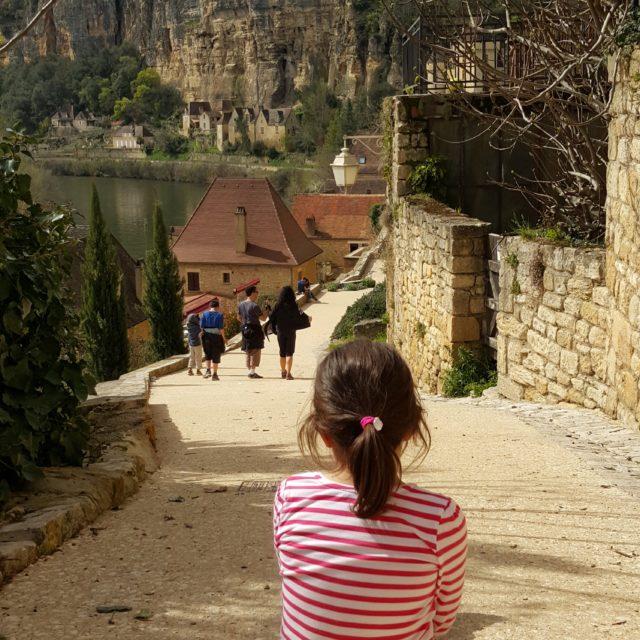 Dans les rues de La Roque-Gageac