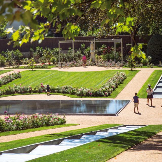 Chateau Milandes Ballades Jardins