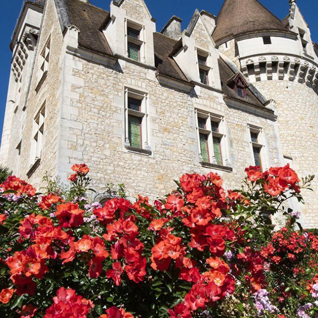 Chateau Milandes Fleur