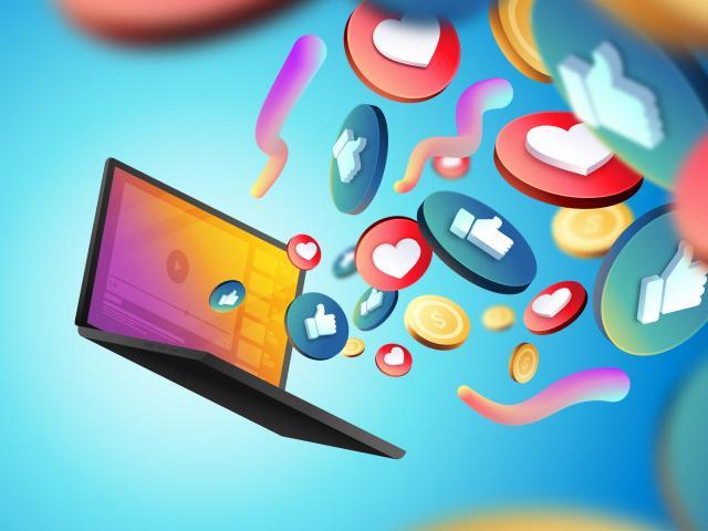 Ateliers numériques, réseaux sociaux
