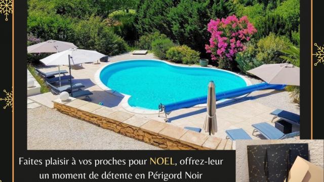 Faites plaisir à vos proches pour Nöel, offrez leur un moment de détente en Périgord Noir Cartes & chèques cadeaux