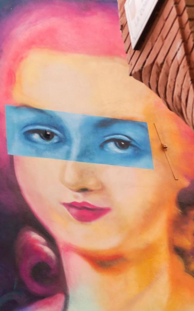Olympe de Gouges par l'artiste MOG