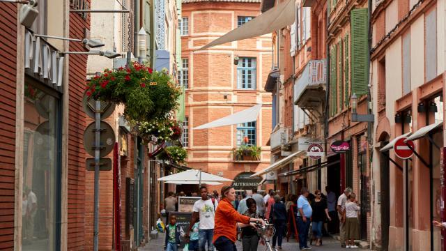 Rue des Carmes, Montauban