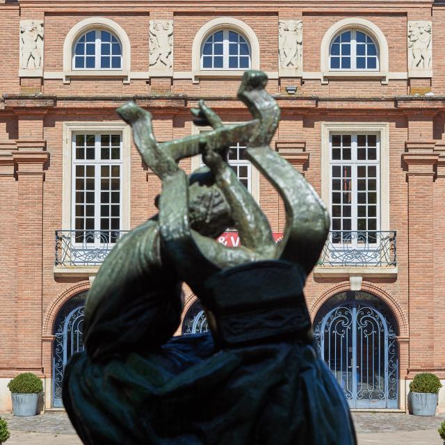 Sapho de Bourdelle et le théâtre Olympe de Gouges