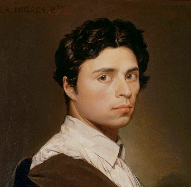 Ingres, Self Portrait